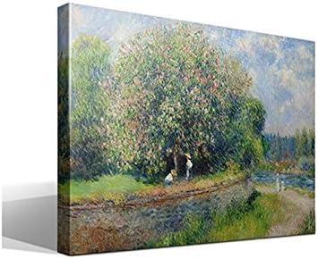 cuadro canvas Castaño en Flor de Pierre Auguste Renoir - 40cm x 55cm