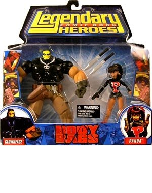 Legendary Comic Book Heroes Series 1 Body Bags 2-Pack Action Figures