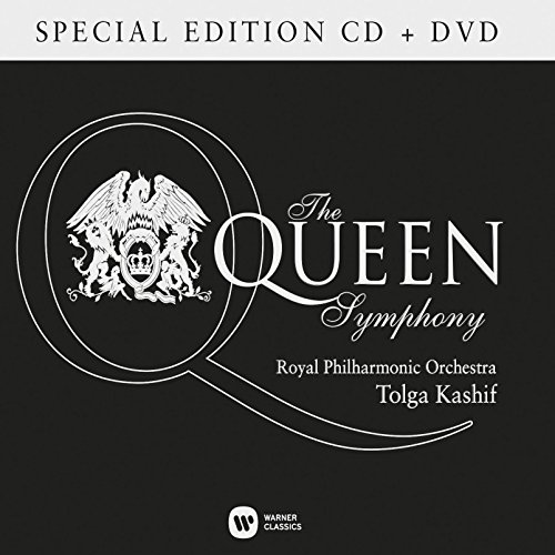 Price comparison product image Kashif: The Queen Symphony (CD / DVD)