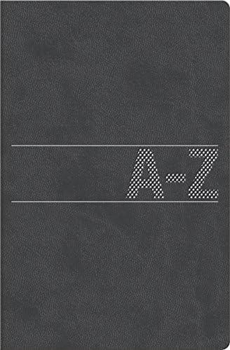 BRUNNEN 1064668 Schuppen-Telefonregister (Adressbuch, 384, Softeinband, 100 x 140 x 10 mm) schwarz