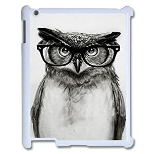 Custom Colorful Case for Ipad 2,3,4, Cut Owl Cover Case - HL-533193