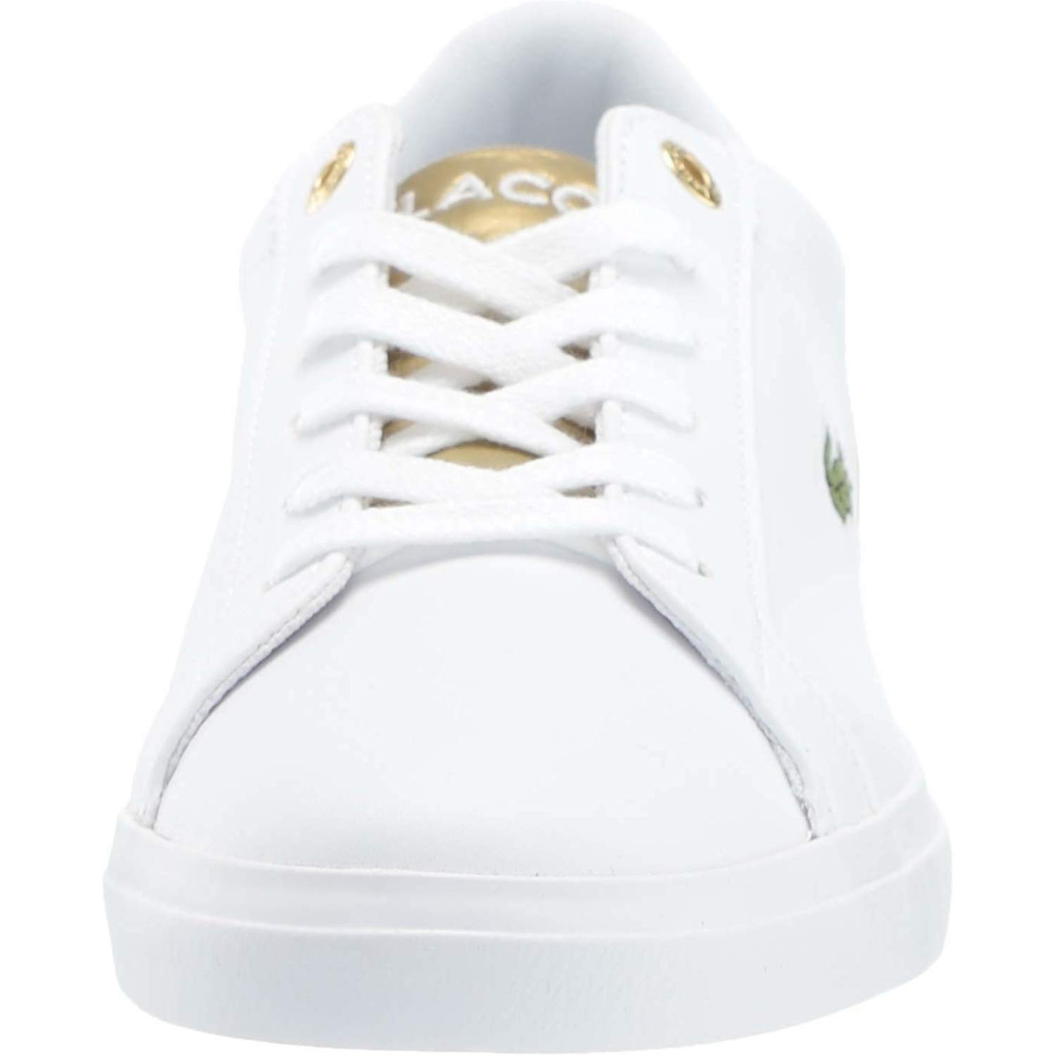 ad4a2edccb202 Lacoste Lerond 318 3 White/Gold Synthetic 39 EU: Amazon.co.uk: Shoes & Bags