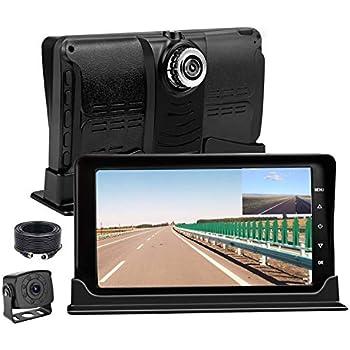 Amazon Com Dual Dash Cam 1080p Fhd Rv Truck Driving