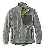 Orvis Men's Windproof Sweater Fleece Jacket, Light Gray, Large