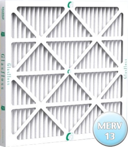 16-3/8x21-1/2x1 Air Filter for Carrier, Bryant and Payne MERV 13, Case of 12 by Glasfloss