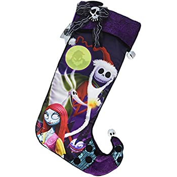 disney park jack skellington large nightmare before christmas holiday stocking