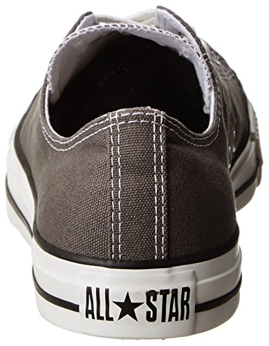 Omgekeerde Chuck Taylor All Star Core Canvas Lage Top Sneaker Houtskool 42 M Eu / 10.5 B (m) Ons Dames / 8.5 D (m) Us Men