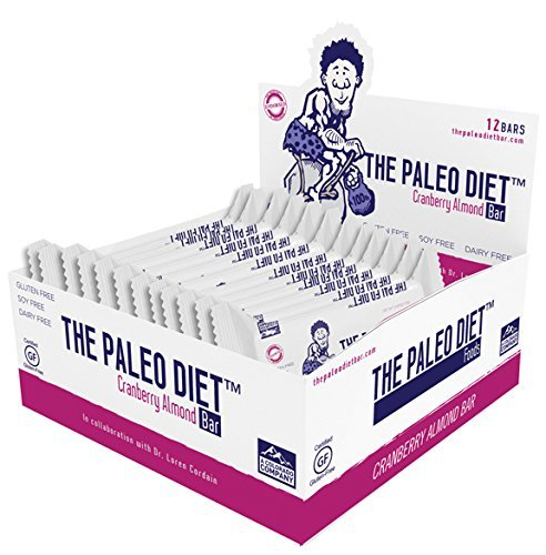 The Paleo Diet Bar Cranberry Almond