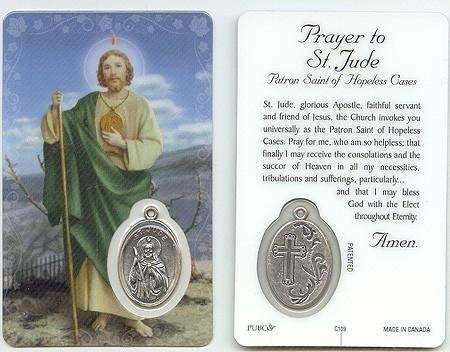 (St. Jude Prayer Card)