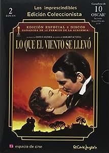 Lo Que El Viento Se Llevó (Gone With The Wind) (1939) (2dvds + Libreto) *** *** ***