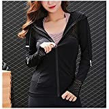 Gate2Light Hoodie for Womens Teen Long Sleeve Fitness Gym Yoga Jogging Running New Fashion (S, Red)