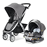 Chicco Carriola Bravo Travel System modelo Lilla, color gris