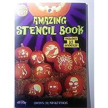 Fun World Unisex-Adult's Amazing Stencil Book, Multi, Standard