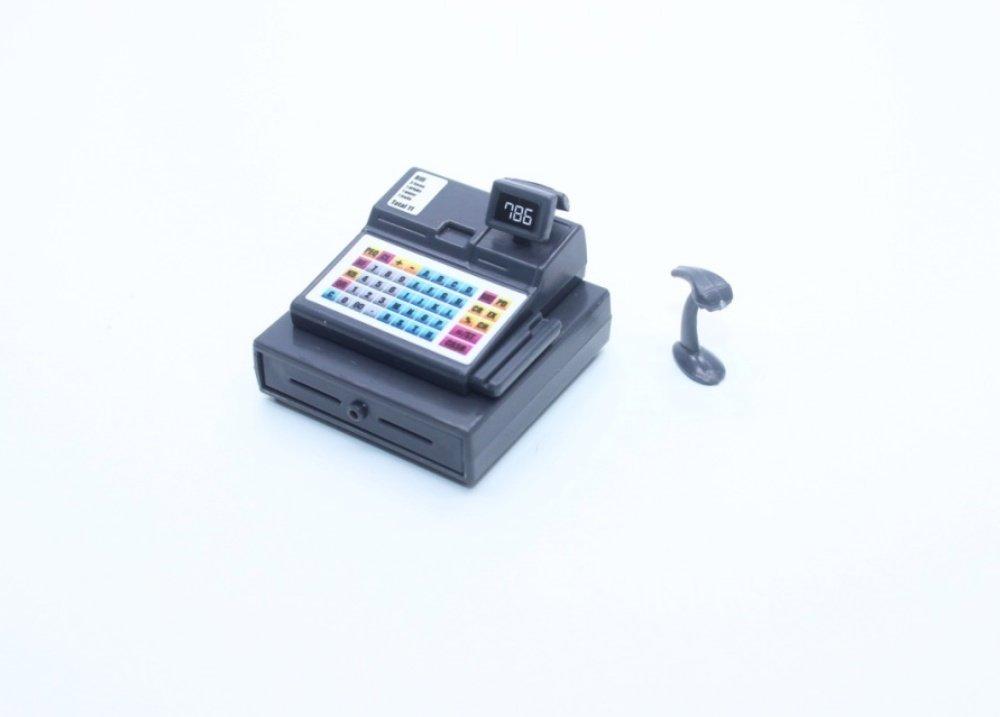 ChangThai Design Mini Cashier Machine Digital Dollhouse Miniature Handmade