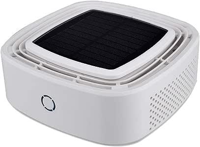 Purificador de Aire,Solar Coche Purificador Aire con HEPA y Carbón ...