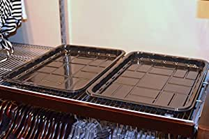 Amazon Com 6 Pack Of Shelf Liner Trays For 12 And 16