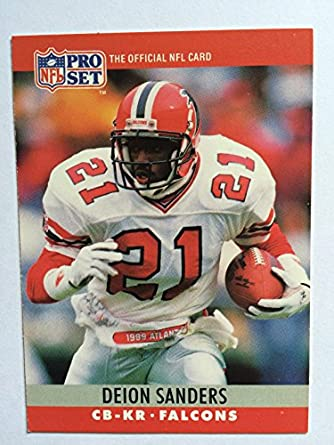 454a591f81b Amazon.com: 1990 Pro Set 36 Deion Sanders NM/M (Near Mint/Mint ...