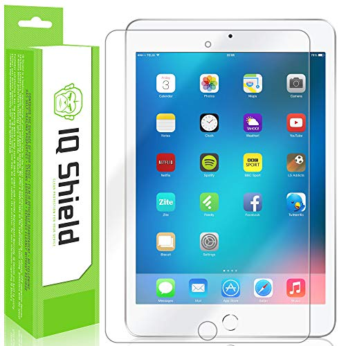 IQ Shield Screen Protector Compatible with Apple iPad Mini (7.9 inch)(iPad Mini 5, 2019) LiquidSkin Anti-Bubble Clear Film