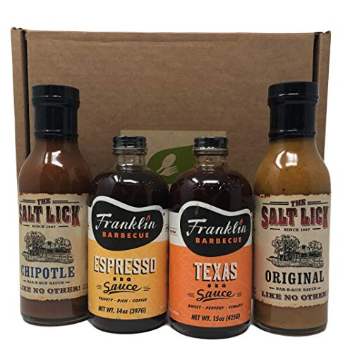 My Natural Gourmet Best Of BBQ Collection (The Ultimate Texas BBQ Sauce Gift Set)