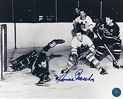 Autographed Howie Meeker 8x10 Toronto Maple Leafs Photo
