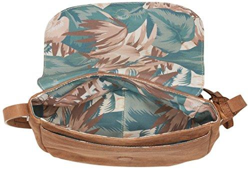 Timberland Tb0m5744, Borsa a Spalla Donna, 10.5x21x27.5 cm Marrone (Tortoise Shell)