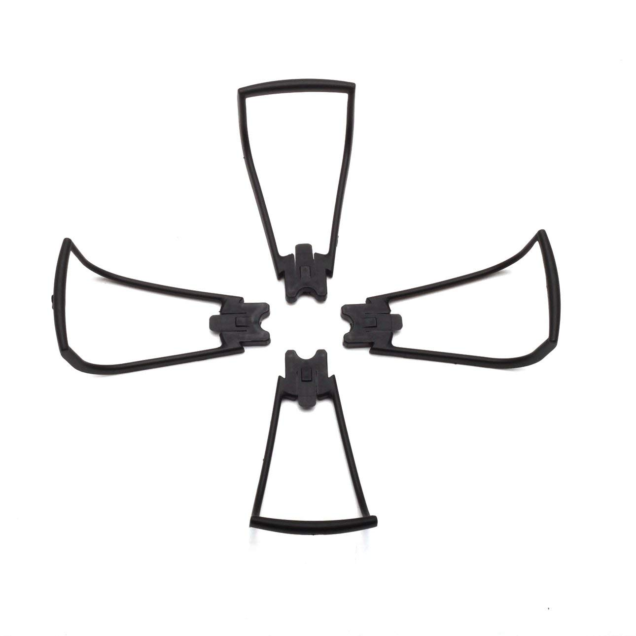 Liobaba Lightweight Propeller Cover for SG700 DM107 4 PCS Propeller Protecting Device RC Quadcopter Accessory Black
