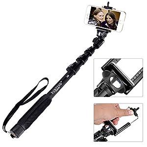 yunteng yt 188 handheld extendable selfie sticks bluetooth remote shutter. Black Bedroom Furniture Sets. Home Design Ideas