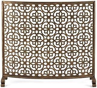 amazon com fireplace screens hyde park decorative fireplace rh amazon com Art Deco Electric Fireplace Contemporary Fireplace Screens