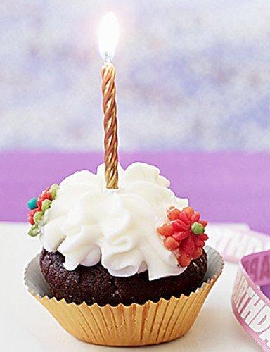 AxP el delgado hilo boda creativa vela para tarta cumpleaños ...