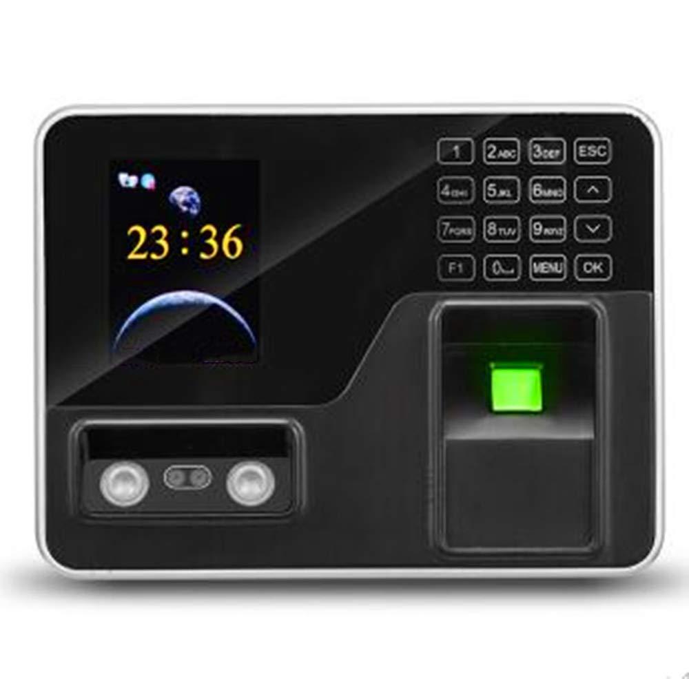 ZJXADS 2.8 inch TFT Screen,Fingerprint Face Recognition attendance Machine, Punch Card Machine, Employee Registration Recorder, Internal Ring, Name Display,Intelligent Update