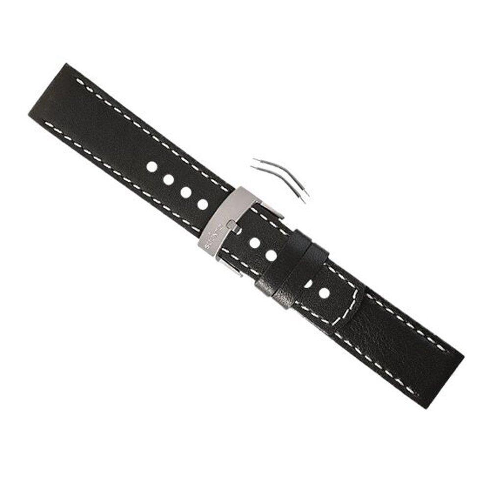 New Suunto Elementum Terra Black Leather Strap Kit by YIYU