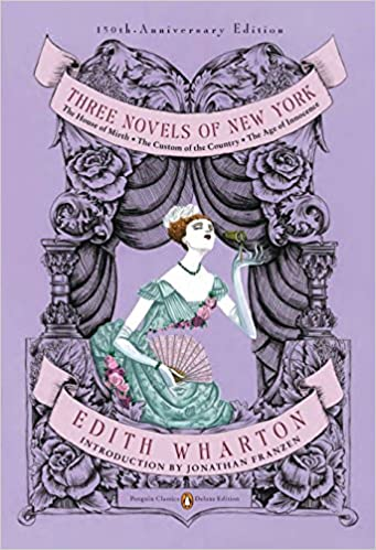Image result for edith wharton three novels of new york