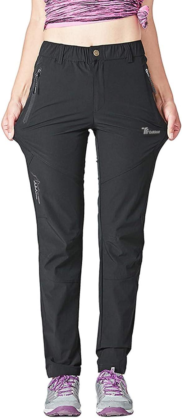 Pantalons Extensibles Couleur Unie Pantalons de Marche descalade N// A Pantalons Cargo pour Hommes Coupe Slim-pour Toutes Les Saisons