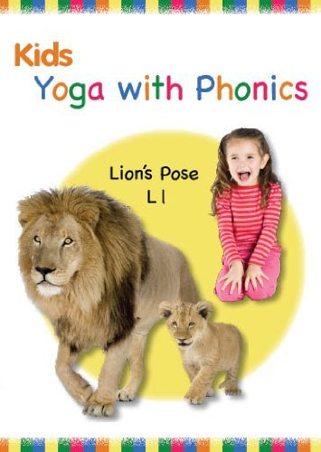Kids Yoga with Phonics DVD (New 2011) ABC, Alphabet Video, Letters, 26 Fun Poses, Kids Fitness by Little Sensei