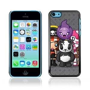 MMZ DIY PHONE CASEYOYOSHOP [Funny Cute Creatures Panda] Apple iphone 6 plus 5.5 inch Case
