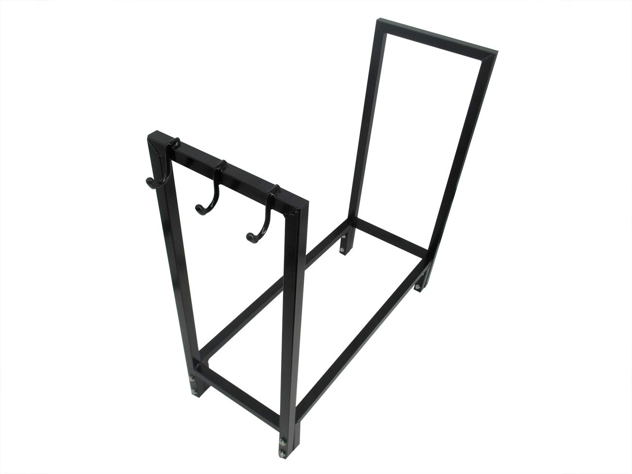 Trademark Innovations Firewood Outdoor Log Rack Holder with Cover