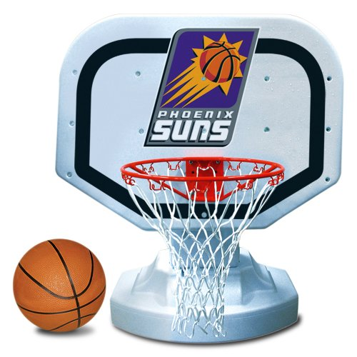 Poolmaster 72924 Phoenix Suns NBA USA Competition-Style Poolside Basketball Game (Phoenix Suns Pool)