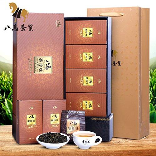 Bama tieguanyin 八马茶业 安溪铁观音茶叶 赛珍珠浓香型新茶1000茶叶礼盒装133g Eight horse tieguanyin FOOD CO by FOOD CO