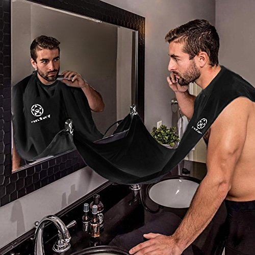 Beard Bib - Hair Clippings Catcher, Grooming Cape Apron,Ystar for Man Shaving