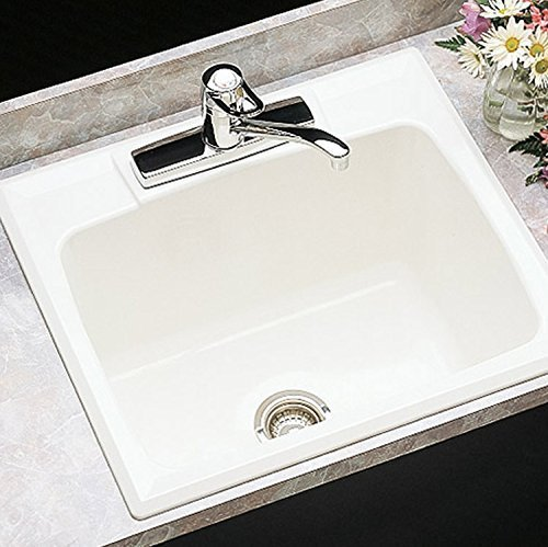 Mustee 10C Utility Sink, 22-Inch x 25-Inch, White by Mustee by Mustee