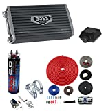 Boss AR1600.2 1600W 2-Ch Car Amplifier + Remote + 2.0 Farad Cap + 4 Ga Amp Kit