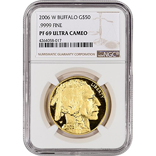 Proof Gold Buffalo - 2006 W American Gold Buffalo (1 oz) Proof NGC Large Label $50 PF69 NGC UCAM