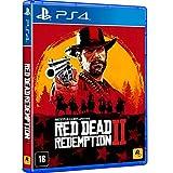 """DESCRIÇÃORed Dead Redemption 2conhecido como Grand Theft Auto do velho oeste, dá sequência a Red Dead Redemption, trazendo muita ação em uma aventura. Considerado um """"conto épico da vida no interior implacável da América"""", o game sempre surpreendeu s..."""