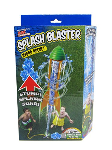 Prime Time Toys Water Rocket - The Wet N' Wild Hydro Rocket Splash Blaster (Water Powered Rocket compare prices)