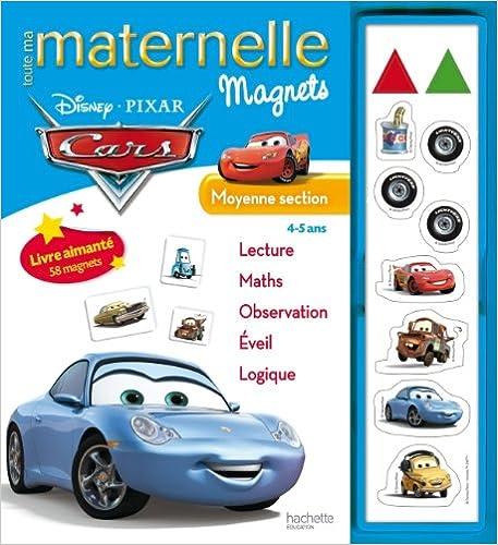 Lire Toute ma maternelle - Cars Magnets MS pdf, epub ebook