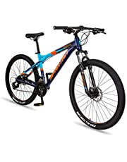 Spartan - 27.5 inch Ampezzo Men's MTB - Moutain Alloy Bicycle - Blue