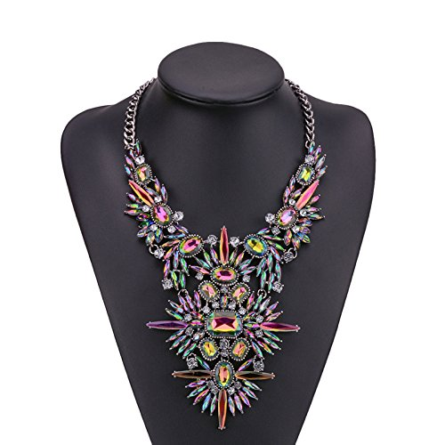 Holylove Women Statement Necklace, Body Jewelry Neckalce for Women Novelty Costume Fashion Jewelry 1 pc with Gift Box