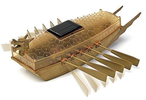 (Academy Solar Powered Turtle Ship )
