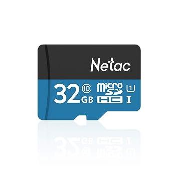 Amazon.com: Netac P500 clase 10 32 GB Micro SDHC tarjeta TF ...