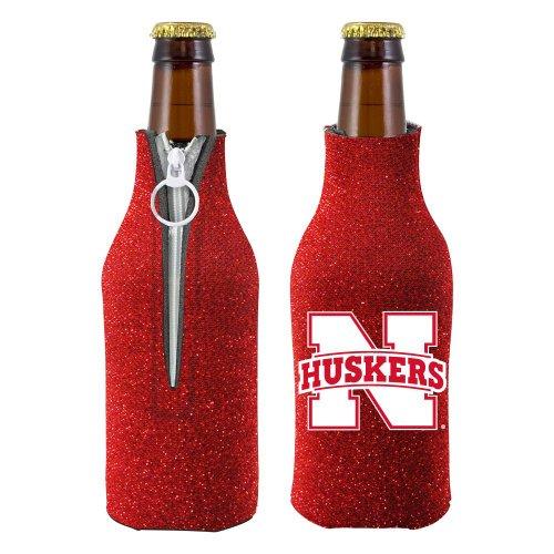 (Nebraska Cornhuskers Bottle Suit Holder - Glitter)